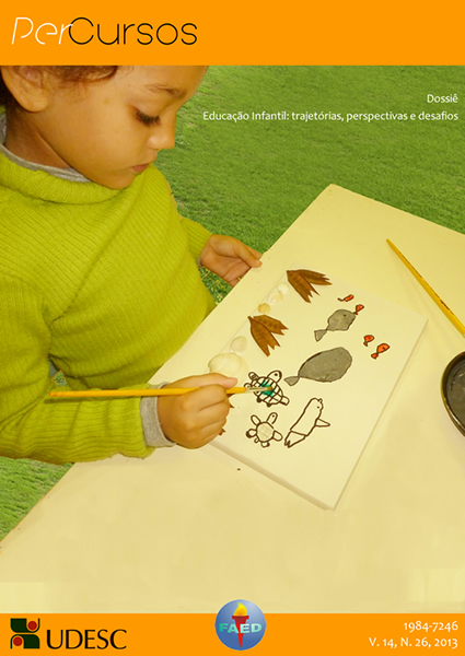 Visualizar v. 14 n. 26 (2013): Educação Infantil: trajetórias, perspectivas e desafios