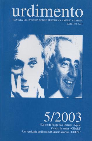 Visualizar v. 1 n. 5 (2003): Fluxo Contínuo