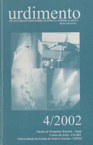 Visualizar v. 1 n. 4 (2002): Fluxo Contínuo