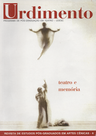 Visualizar v. 1 n. 6 (2004): Teatro e Memória