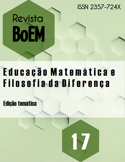 Visualizar v. 8 n. 17 (2020): Edição Temática: Educação Matemática e Filosofia da Diferença