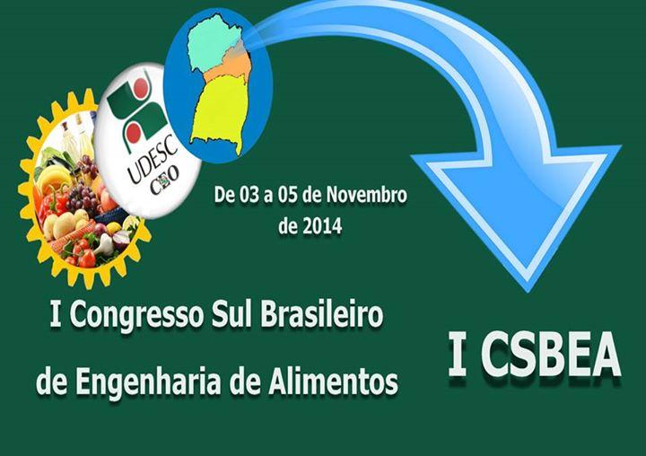 Visualizar v. 1 n. 1 (2015): A Revista CSBEA apresenta os trabalhos do I Congresso Sul Brasileiro de Engenharia de Alimentos.